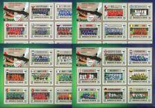 Timbres avec 8 timbres sur football