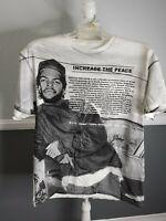 Ice Cube Boyz N The Hood Increase The Peace Mens  Graphic Shirt SZ Large