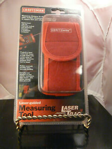 ONIB CRAFTSMAN LASER-GUIDED MEASURING TOOL - LASER TRAC # 948252 - CARRYING CASE