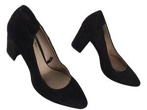 H&M Damen Leder Slipper Pumps Ladies Pumps EUR 35