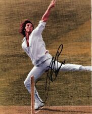 JEFF THOMSON UNFRAMED 8 BY 12 INCH PHOTO SIGNED HAS ITS OWN C.O.A