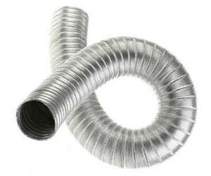 100mm / 1m Aluminium Flexible Hose Alloy Air Ducting Tube Duct Intake Pipe