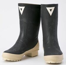 Oil-Resistant Half-Long Rubber Boots for TSUKIJI Fish Market Application