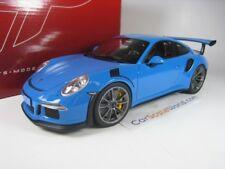 PORSCHE 911 GT3 RS (991) 2014 1/18 GT SPIRIT (RIVIERA BLUE)