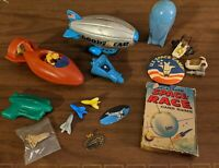 Vintage Space Race Collectibles Lot Transportation Toys Lot