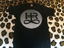 NEW Hit + Run Logo black t shirt mens  sz Small screen printing crew Los Angeles