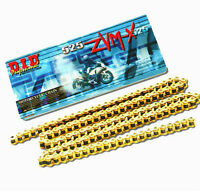 DID 525 ZVM-X Gold X-Ring Superbike Drive Chain ( all lengths )