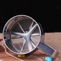 Sifters Kitchen Steel Stainless Flour Sieve Sifter Powder Strainer Mesh Shaker