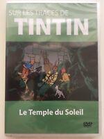 Sur les traces de Tintin - Le temple du soleil DVD NEUF SOUS BLISTER
