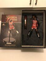 RARE Michael Jordan Upper Deck Historical Beginnings Figure Statue. Bulls NBA