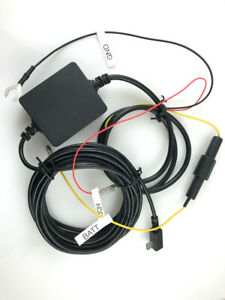 Parking mode power Supply cable micro USB for Garmin Dash cam 45 55 65W Tandem
