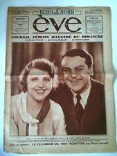 """EVE du 25/05/1930  Dolly Davis et Jean Murat """"le trou d"""