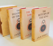 The Lord of the Rings - 1st Edition Box Set - J R R Tolkien - excellent cond
