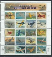 MINT 1997 USA CLASSIC AMERICAN AIRCRAFT AVIATION STAMP SHEETLET