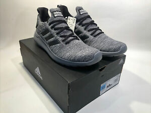 Genuine adidas Men's Cloudfoam Lite Racer BYD Running Shoes, Grey/Black