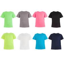 Bambini Maglia Funzionale T-Shirt Essiccazione Rapida Assorbi Sudore,