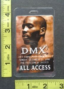 "DMX,Original RARE laminated ""OTTO"" Backstage pass,ALL ACCESS"