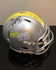 DREW BREES SIGNED AUTO 2018 NFL PRO BOWL MINI HELMET NEW ORLEANS SAINTS STAR QB