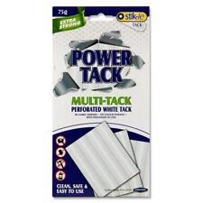 Blanco Tachuela Reutilizable Adhesivo Masilla reposicionables Pegamento 75g Multi-Tack Power Tac