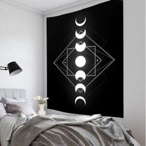 Moon Transform Indian Mandala Tapestry Wall Hanging Macrame Hippie Witchcraft