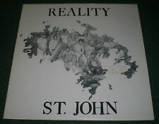 "Reality St. John~RARE Ska Reggae Drum Funk Soul 12"" Single 45 LP~FAST SHIPPING!"