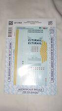 Microscale #87-1464 HO CitiRail (CREX) ES44AC Capital Finance (CEFX) AC4400CW
