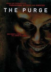 The Purge (DVD, 2013) NEW