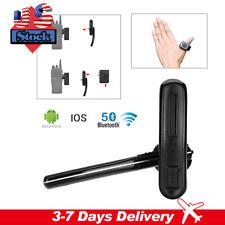 Wireless Bluetooth Headset Earpiece M Head + Ptt For Motorola Walkie Talkie Usa