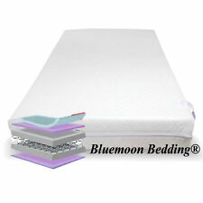 Baby Toddler Mattress Spring Cot Mattress Quilted Bed Mattress 140 X 70 X 13 Cm