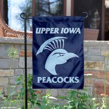 Upper Iowa Peacocks Garden Flag and Yard Banner