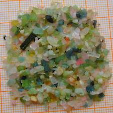 hunderte TURMALIN Kristalle vielfarbig tuk  Pakistan über 30  Karat!