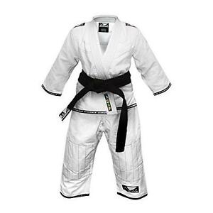 Bad Boy MMA Competition BJJ Uniform Kid Gi Childrens White Ju Jitsu Suit Jiu