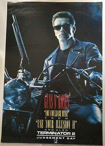 Terminator 2 Guns N Roses poster (1991) GC 70x100cms