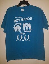 Nems Presents Boy Bands Jackson 5, One Direction, The Beatles T Shirt Mens Large