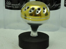 UJ 45mm Knob for Daiwa Saltiga Saltist Catalina & Pale-Gold/Silver w/ Silver Cup