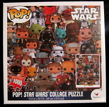 STAR WARS COLLAGE Puzzle - 48 x 67,90 cm (1000 pièces) Funko POP!