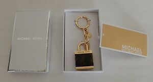 MICHAEL KORS EXTRA LARGE LOCK CHARM IN TORTOISE COLOR AUTHENTIC NWT