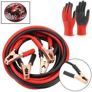 4 METRE 1000AMP Heavy Duty Car Van Jump Leads Booster Cables Start Recovery New