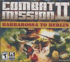 COMBAT MISSION II Barbarossa to Berlin 2 Win XP-7 GameNEW