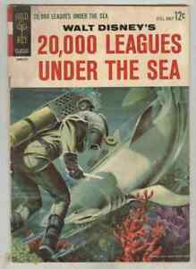 Movie Comics #10095-312 December 1963 VG 20,000 Leagues Under the Sea