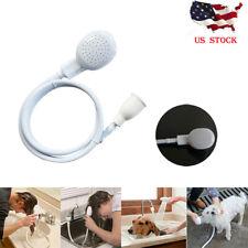 Pet Shower Spray Hose Bath Tub Sink Faucet Attachment Washing Shower Head