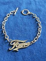 FAME The Musical MGM 2009 Silver Tone Bracelet With Toggle Closure