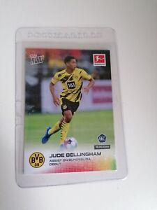 Jude Bellingham Topps Now Assist Bundesliga RC #004 ROOKIE BVB