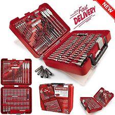 Craftsman 100 PC Drill Bit Accessory Kit Mechanic Tool Set Screw Driver Tools