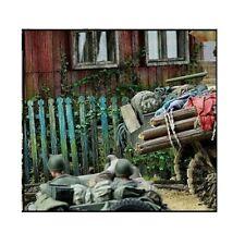 1:35 verschiedene Diorama Europa Holz Zaun Tür Echt Holz
