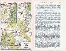 Lagow Łagów (Świebodziński) 1914 kl. orig. W-Karte + Reisef. (2 S.) Schermeisel