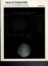 Original Hewlett Packard Journal June 1984 Vol. 35 No. 6