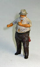 RICH O Scale On30 Model Railroad Figure Painted White or Black Skin FGOGJB01A/B