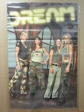 DREAM All Girl  rock band 2001  Poster original  unused 1534