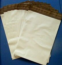 """20 7.5"""" x 10.5"""" Poly Mailers Shipping Bags Plastic Mailing Envelopes White USPS"""